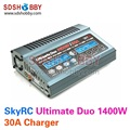 SkyRC Ultimate Duo 1400W 700W*2 Balance Charger 30ACharge 5A Discharge NiMH/LiPo Battery Charger Twin-Channel Charger