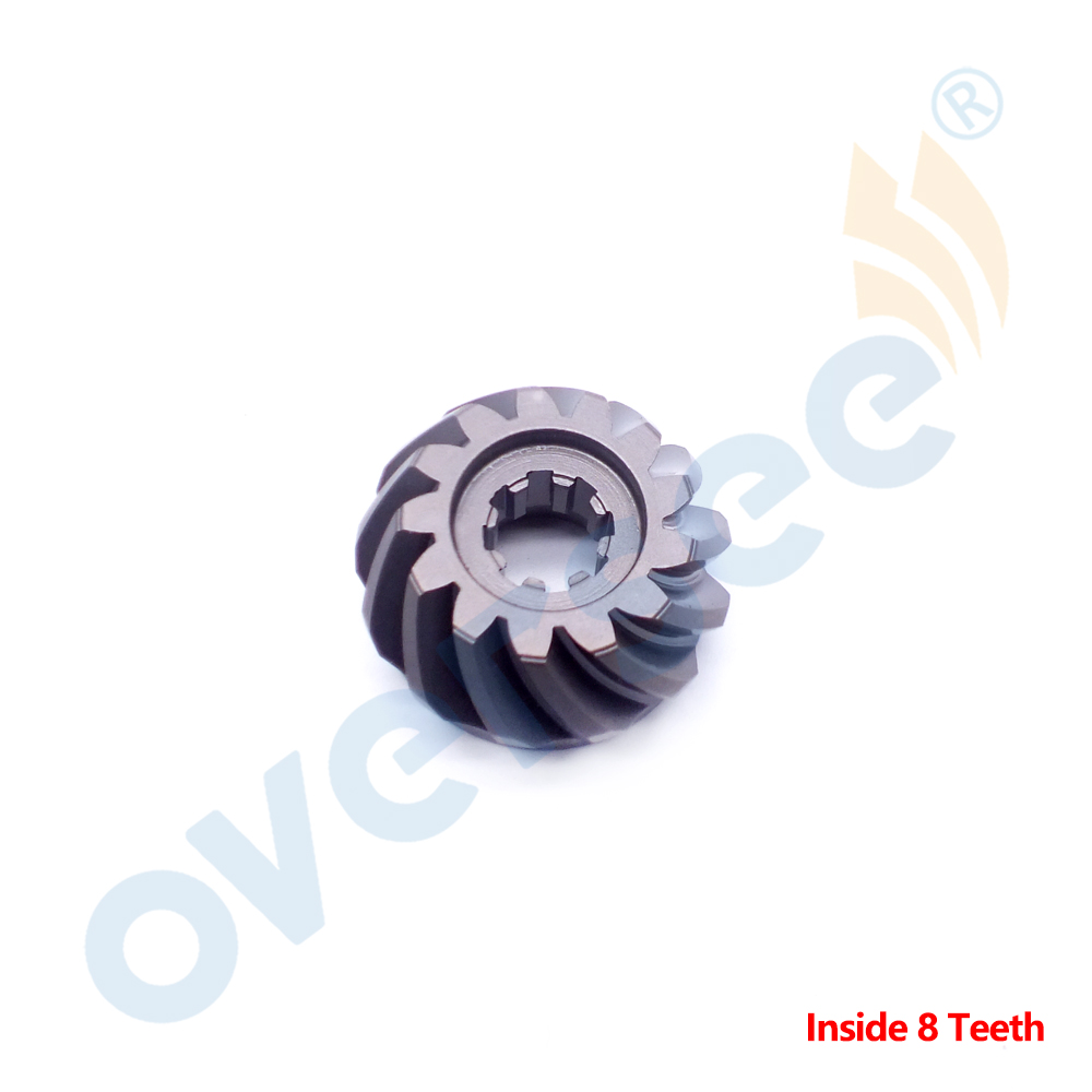 Pinion For Yamaha Outboard LOWER CASING 9.9HP 15HP 6E7-45551-00 13T Outstide 8T Inside 682 6E7 Model