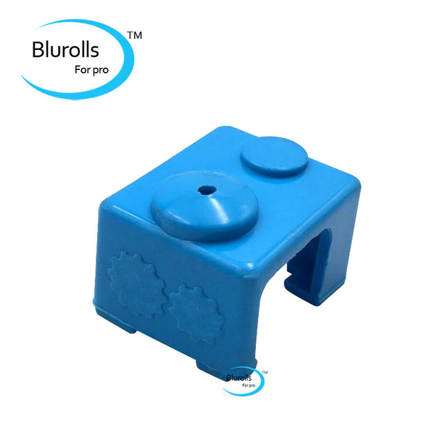 1 Pcs V6 Heater Block Fixings Silicone Insulation Sock For E 3 D