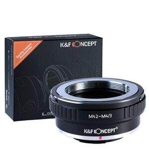 Image 1 - K & F Conceito adaptador para M42 montagem da lente para Micro 4/3 M4/3 Mount Adapter G3 GH2 GH3 GH4 GH5