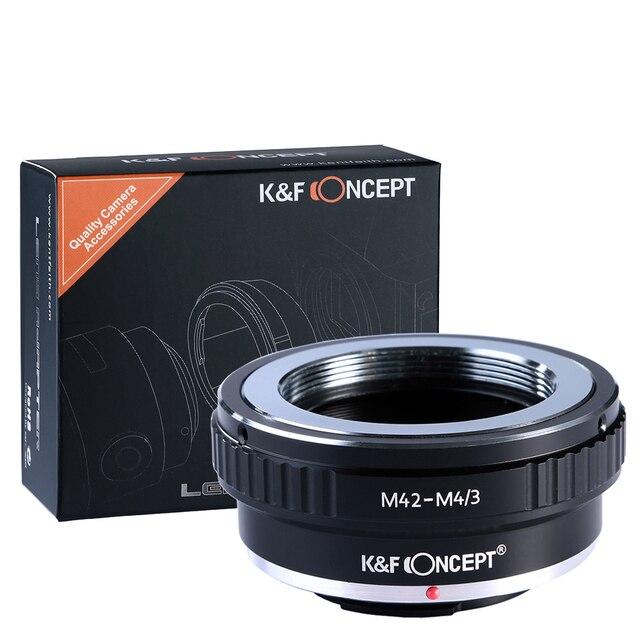 K & F Concept адаптер для M42 mount lens to Micro 4/3 M4/3 Mount adapter G3 GH2 GH3 GH4 GH5