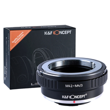 K&F Concept adapter for M42 mount lens to Micro 4/3 M4/3 Mount Adapter G3 GH2 GH3 GH4 GH5
