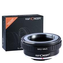 K & F Concetto adattatore per M42 mount lens per Micro 4/3 M4/3 Adattatore di Montaggio G3 GH2 GH3 GH4 GH5