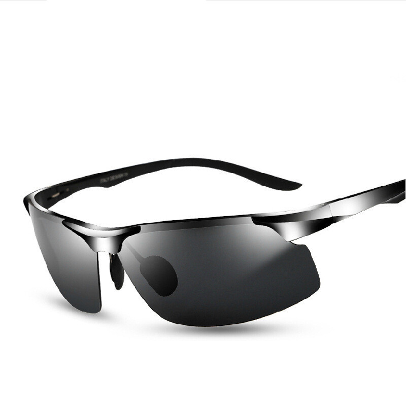 0d904c6f0b4ce 2018 Moda Óculos De Sol Dos Homens de Condução Óculos de Sol Oculos de sol  Feminino Óculos Metade do Quadro UV Shades Gafas de sol do Sexo Masculino  YJ49