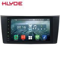 8 Octa Core 4G Android 8,1 4G B + 6 4G B FM dvd плеер автомобиля радио для Mercedes Benz W211 E200 E220 E240 E270 E280 E300 E320 E350 E400