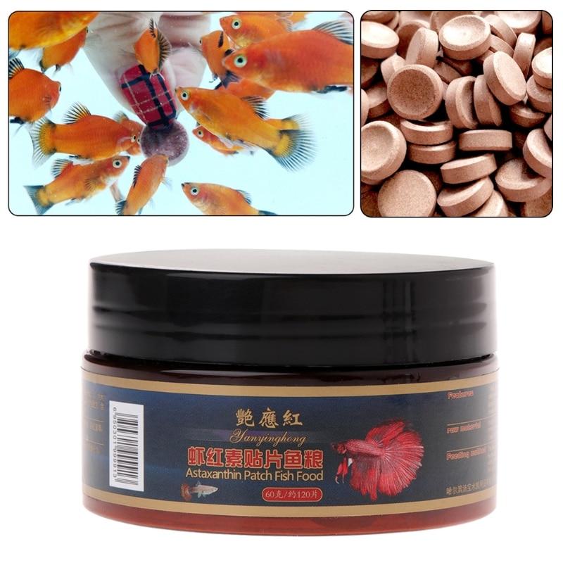2019 New Fish Food Tablet Astacin Shrimp Aquarium Feeding Fish Tank Tropical Catfish Pill font b