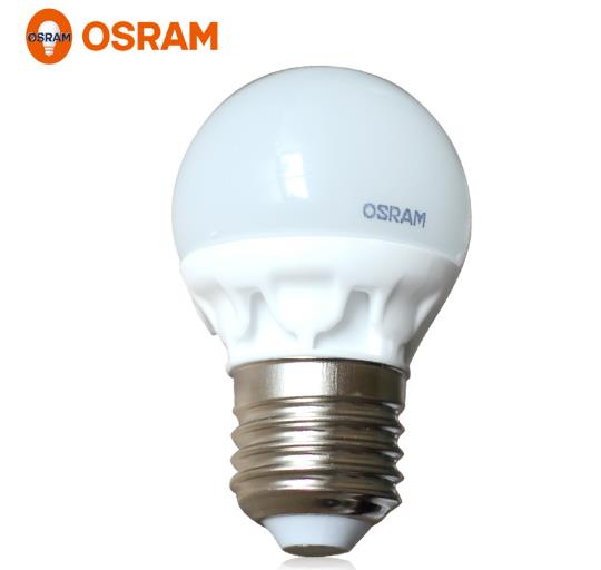 osram led star 3w 220 240v e27 frosted round lamp 2700k warm white 6500k daylight cold white. Black Bedroom Furniture Sets. Home Design Ideas