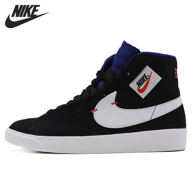 Original New Arrival NIKE W BLAZER MID REBEL Women's Skateboarding Shoes Sneakers