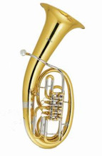 Musical instruments Bb B flat Euphonium 4 Rotary Valves Brass Body with Foambody case and mouthpiece musical instrument backpack euphonium protective bag