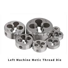 1 шт. резьба левая Метрическая M2 M3 M4 M5 M6 M7 M8 M10 мини резьбонарезной винт машина Штамповка левые ручные инструменты для металлообработки