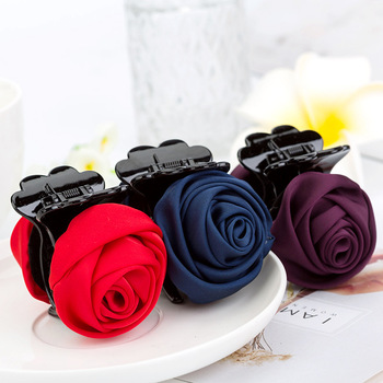 Hair Clip Rose Hair Claws Clips Hair Accessories For Women 1