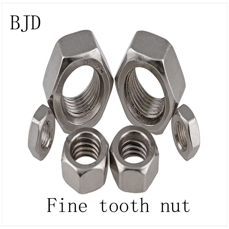 M10//M12//M14//M16//M18//M20//M22-M27 304 Stainless Steel Hexagonal Nut DIN934 SUS304