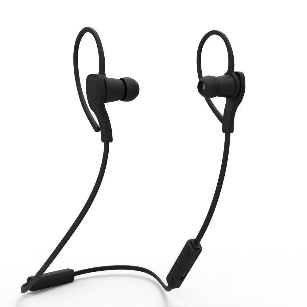 Wireless Bluetooth Headphones EarHook Stereo Sport Blutooth Earphone Wich Mic Music Running Headset For All Smart Phone