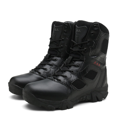 High top Shoes Outdoor Climbing Off road Men 39 s Boots Wear resistant Military Boots Men 39 s Special Hiking Climbing Tactical Boots in Hiking Shoes from Sports amp Entertainment