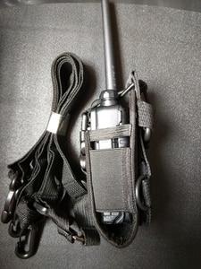 Image 3 - MSC 20A walkie talkie fall für baofeng radio UV 5R,3R,888S,WLN radios nylon walkie talkie tasche Nylon fall für zwei funkgeräte