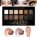 2016 Caliente Profesional Maquillaje A Prueba de agua de Larga Duración Brillante Metálico Glitter Smoky El Desnudos Paleta Sombra De Ojos Maquillaje Cosmético