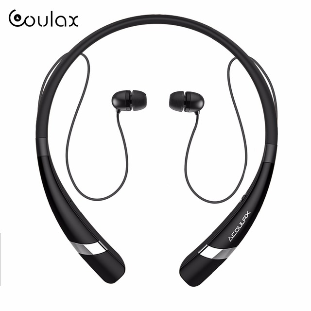 COULAX Wireless Bluetooth Earphone Headphones with Microphone Sport Stereo V4.1 Bluetooth Headset for iPhone Android Phone CX04