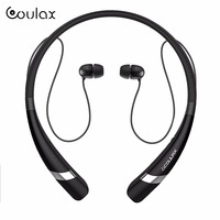 COULAX Bluetooth Headphones Neckband V4 1 Headset Wireless In Ear Sweatproof Sports Running Earbuds With Built