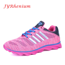 JYRhenium 2017 Women Sneakers Breathable Sport Shoes Female Running Shoes Light Sneakers For Women Shoes Big Size Free Shipping