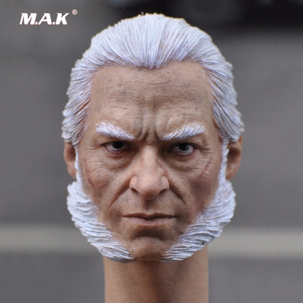 KM15-58 Head Wolverine 1/6 Old Logan Head Sculpt Model For 12 Man Body fit 12 Action Figures mak custom 1 6 scale hugh jackman head sculpt wolverine male headplay model fit 12kumik body figures