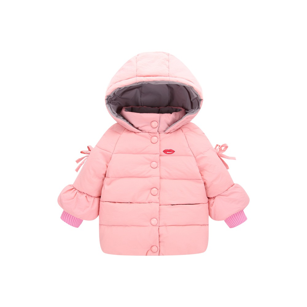 JKP 2018 autumn and winter new children's down Cotton jacket large children's solid color girls short hooded Parkas coat MF-334 women winter parkas 2017 new fashion hooded thick super warm short cotton jacket down solid color loose big yards coat ladies255