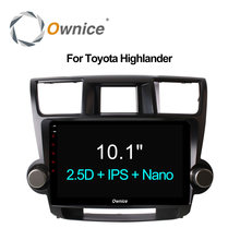 "Ownice C500 + 9 ""Car Радио GPS DVD Navi для Toyota Highlander 2009 2013 2014 2015 Универсальный 2DIN Android 6.0 8 core 4 г LTE 32 ГБ"