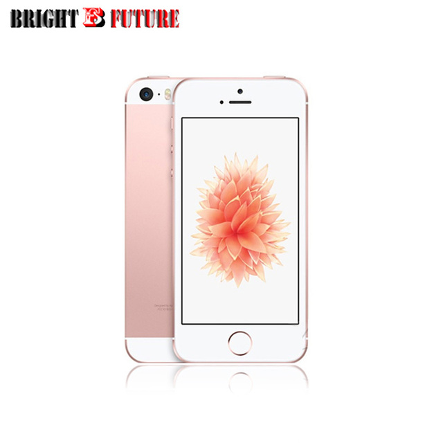 "Original Factory Unlocked Apple iPhone SE 4.0"" 2GB RAM 16GB/64GB ROM 12MP A9 iOS Fingerprint 4G LTE Smartphone GIFT"