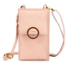 цена на Korea Fashion Women Solid Messenger Crossbody Bag Long Chain Hasp Clutch Girls Zipper Versatile Shoulder Bag Coin Purse Card Bag