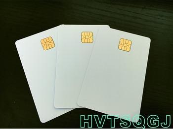 40 sztuk TOFO biały karty pcv z SLE4428 Chip kontakt kontakt z kartą inteligentną karty IC karty pcv tanie i dobre opinie Pasywne Karty Karty IC kontakt Odczytu zapisu 13 56mhz ISO Karty 85 5*54mm HVTSQGJ