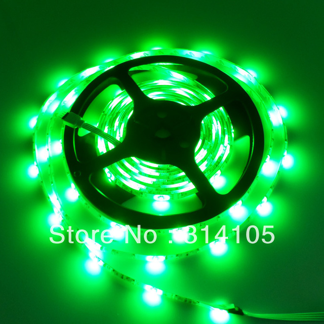 CE&RoHs,RGB Waterproof 5M 3528 300 led  Strip light+24 IR Remote control,16color change,free shipping