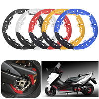 For Yamaha T max 530 Tmax 530 SX DX 2017 2018 CNC Scooter Transmission Belt Pulley Cover Set Parts Motorcycle Accessories