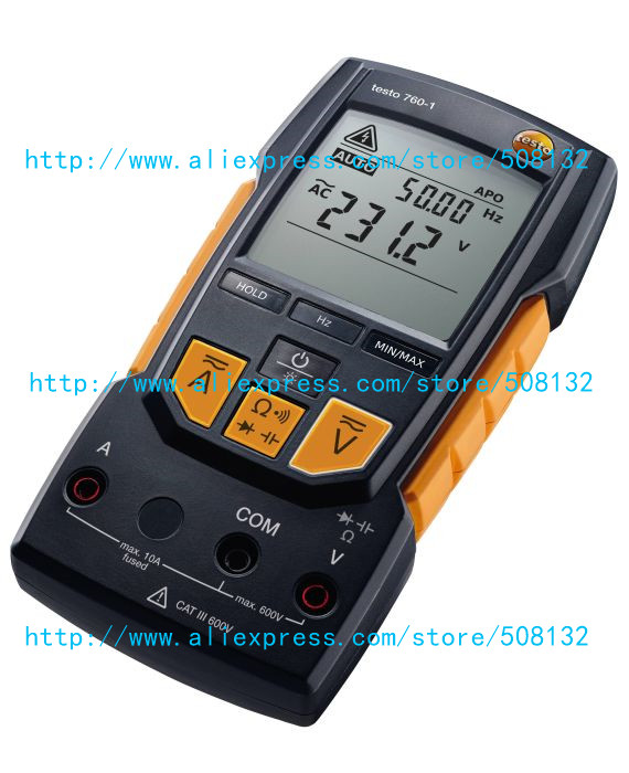 TESTO 760 1 Digital multimeter Meter 0590 7601 New