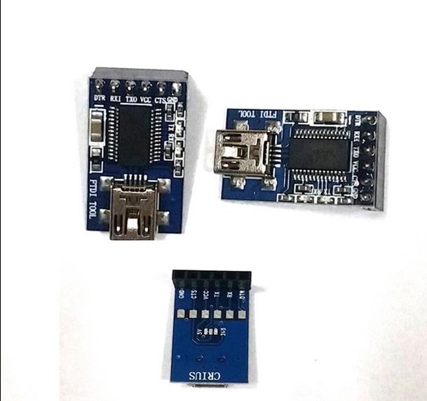 FTDI Basic Breakout USB-TTL 6 PIN 3.3V 5V Module For Arduino MWC MultiWii