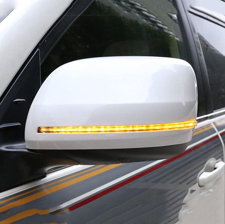 Che scorre LED Laterale Retrovisore Copertura Dello Specchio di Ricambio Per Toyota Land Cruiser 200 LC200 2012 2014 2016 2017 2018 2019 Accessori