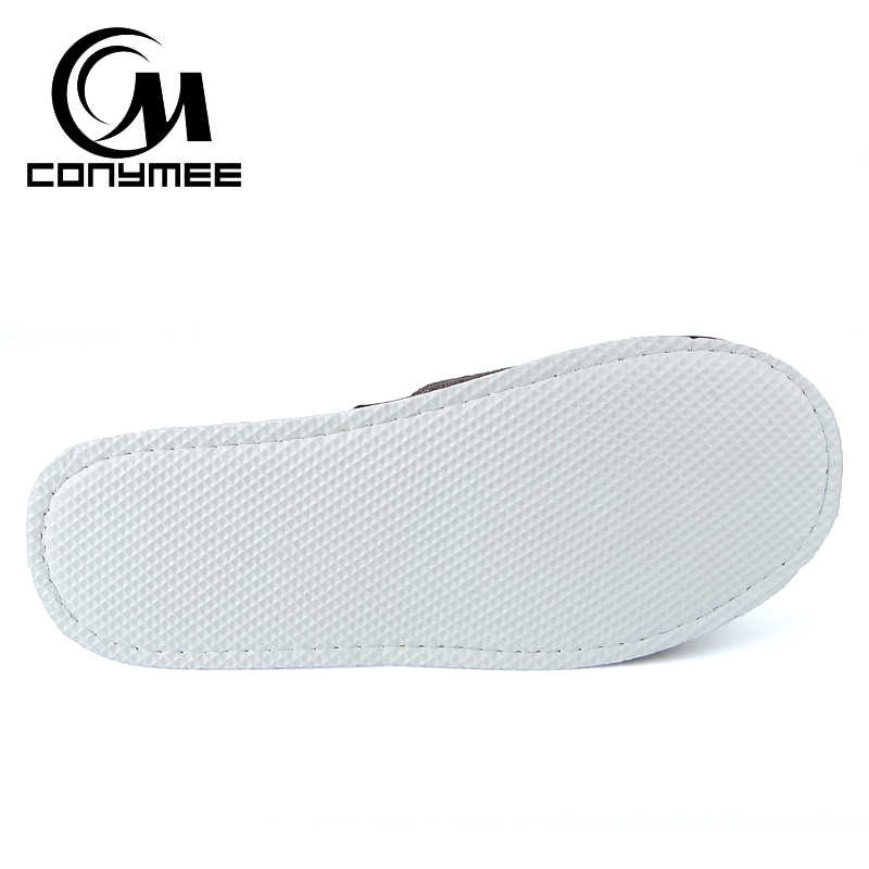 Winter Shoes Men Women Casual Sneakers For Home Indoor Slippers Pantufa Soft Plush Warm Cotton Slipper Erkek Terlik Big Size