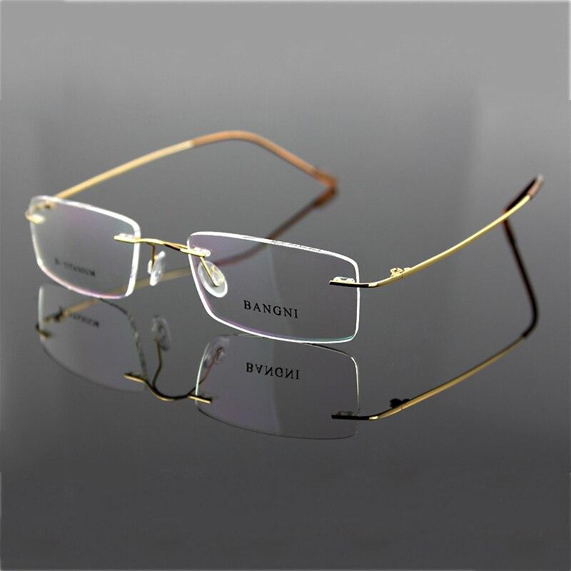 Beta Titan randlose Brille Scharnier nicht-Schraube flexible Brille - Bekleidungszubehör - Foto 3