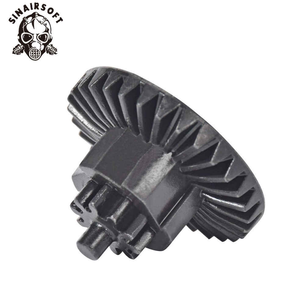 SINAIRSOFT New MA CNC Steel Bevel Gear Fit M4 M16 AK Etc. AEG Gearbox For Airsoft Paintball Hunting Shooting Accessories