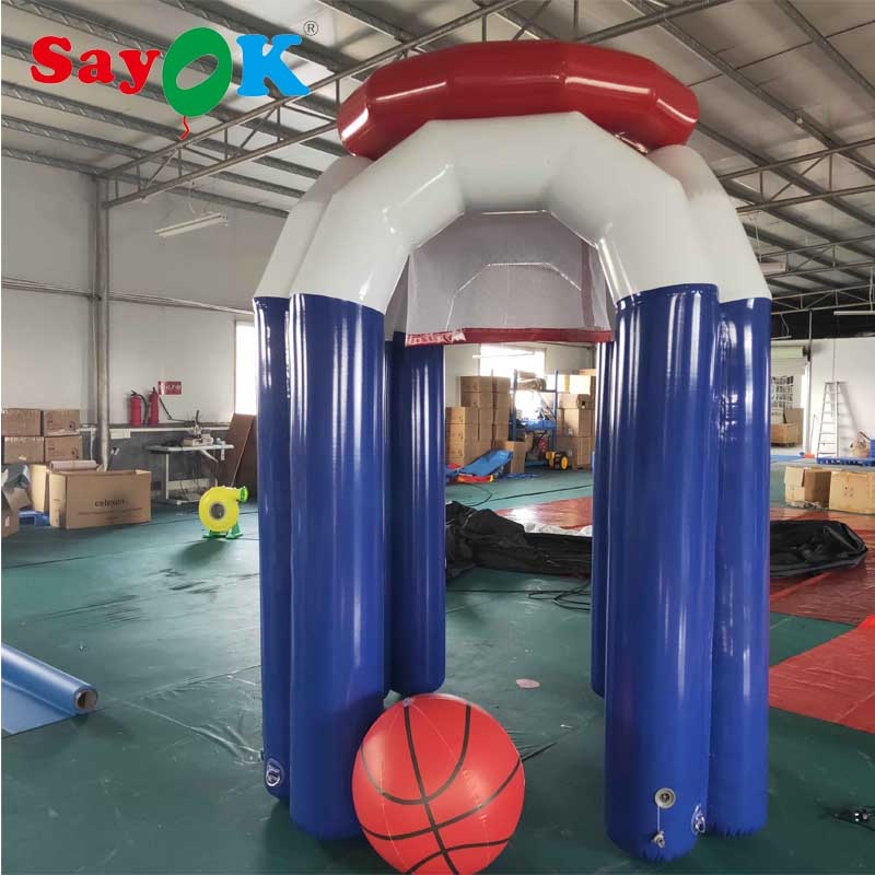 PVC Giant Inflatable Basketball Hoop Inflatable Game Shooting Basketball for SalePVC Giant Inflatable Basketball Hoop Inflatable Game Shooting Basketball for Sale
