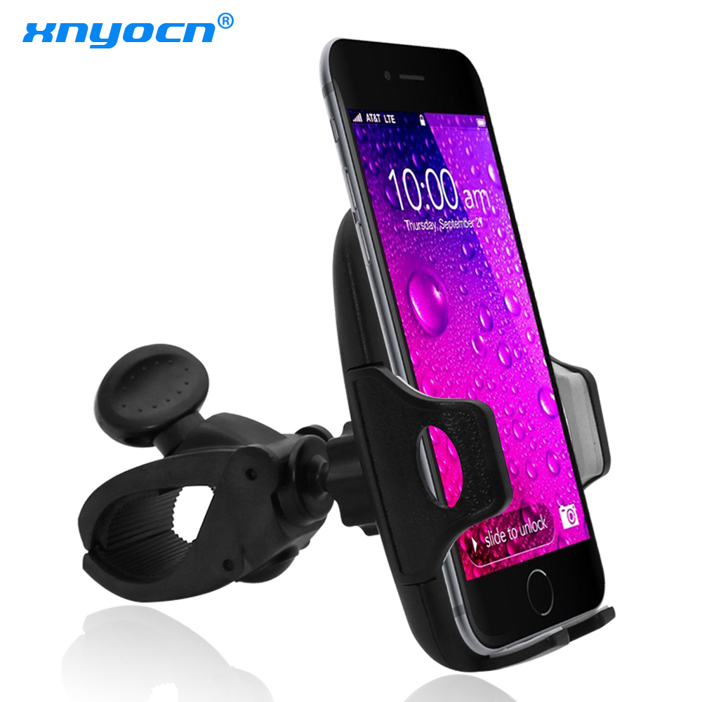 360 Degree Rotatable Motorcycle Phone Holder for Your Mobile Phone for Huawei P8 Lite Bike Holder for Iphone 6 7 Plus Xiaomi 2