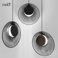 postmodern shell chandelier lighting for villa living room kitchen nordic designer hanging lamp industrial indoor led fixtures