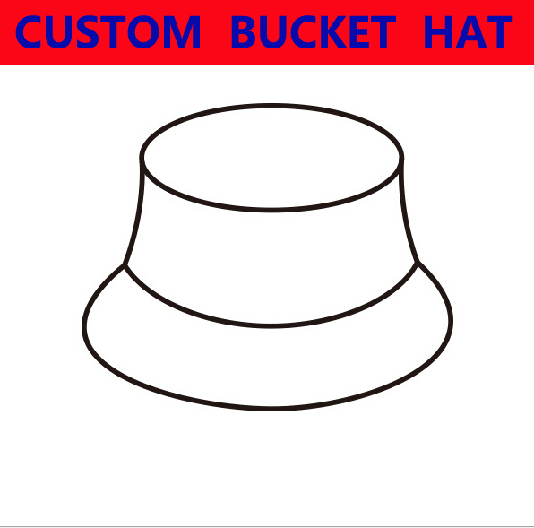 b802879f6e5 2018 Custom Bucket Hat Cotton Cap Adult Child Men Women Personalized  Embroidery Print Logo Wholesale Free Shipping-in Bucket Hats from Apparel  Accessories ...