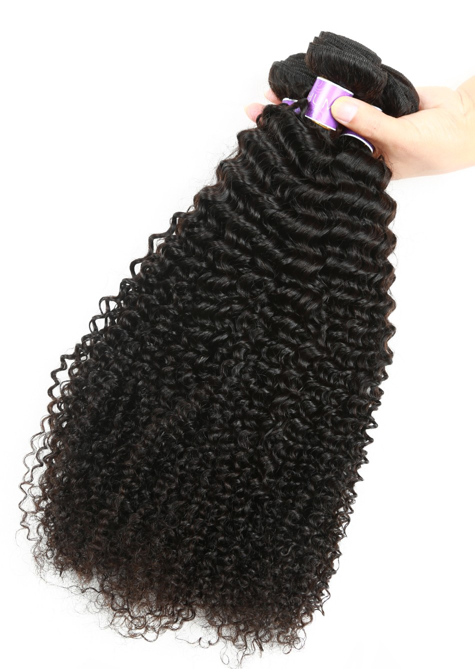 kinky curly virgin hair weave  (2)