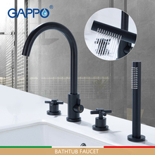 GAPPO bathtub faucets black bath mixer bathroom shower faucet shower wall waterfall shower system bathtub faucet душ gappo g2414