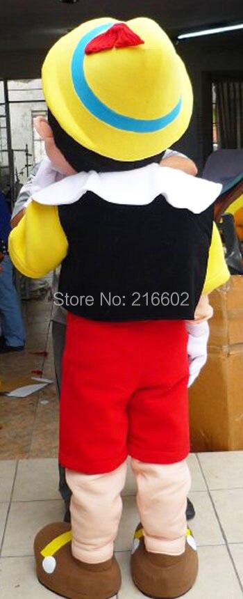Pinocchio maskot kostyumu böyüklər üçün Halloween xülya geyim - Karnaval kostyumlar - Fotoqrafiya 3