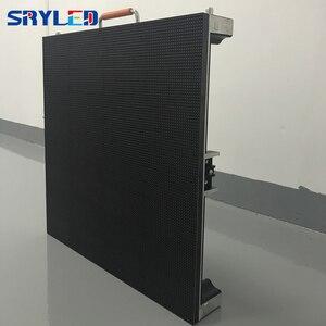 Image 5 - 7 กิโลกรัม/ชิ้น RentalP2.6 P2.976 P3.91 P4.81 ในร่มราคาหน้าจอ LED Die Cast อลูมิเนียมตู้ LED แผง 500x500 มม.