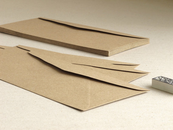 Kraft Envelopes Envelopes Bulk For Wedding Invitations Card
