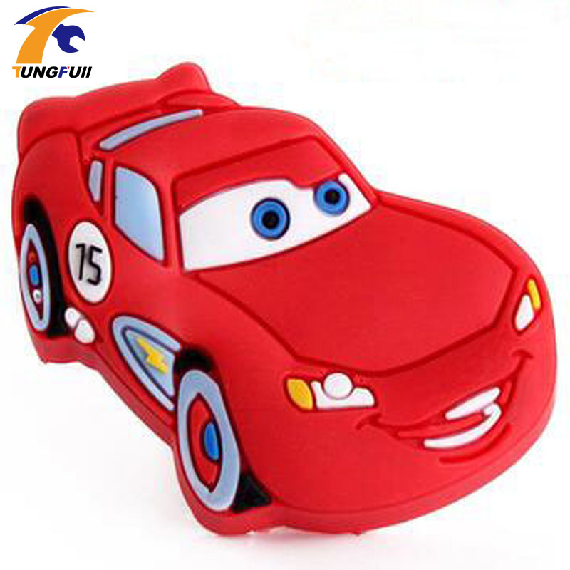 10PCS Cute Racing Car Soft Gum Cartoon Bedroom Furniture Kitchen Cabinet Kids Dresser Knobs Door Handles red color 8pcs cute cartoon children bedroom furniture cabinet drawer dresser knobs door pull handles soft pvc handles for kids