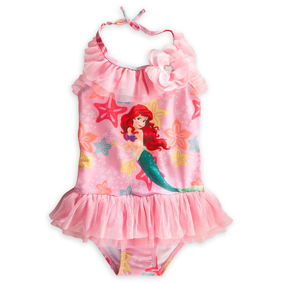 Retail Girls Tinkerbell prince swimsuit One-Piece Swimwear for children beach wear bathing suit summer UPF 50+ for 0-2 Year RT75