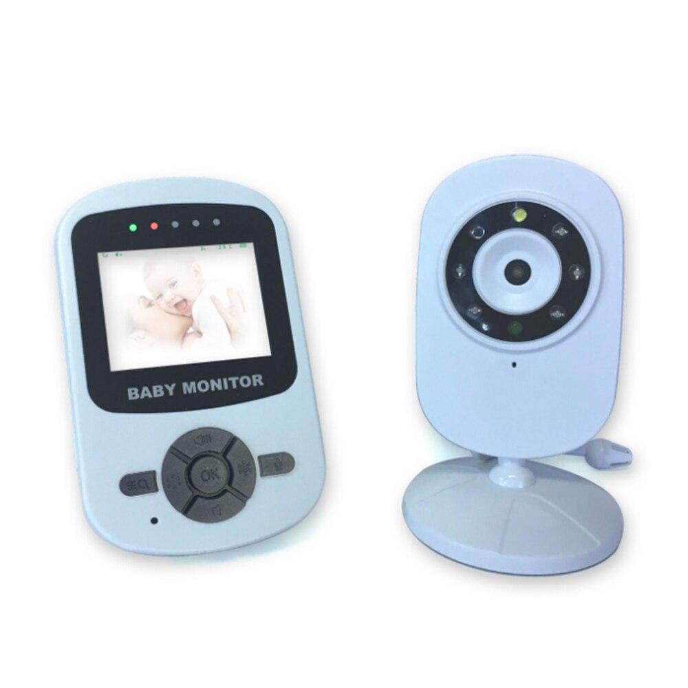Shujin 2.4 GHz 2.4 pouces écran LCD sans fil bébé moniteur vidéo Vision nocturne surveillance de la température bébé téléphone moniteur Audio - 2