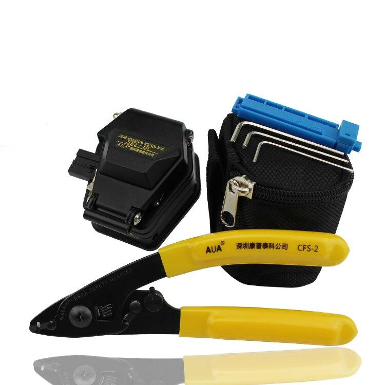 SKL-6C Optical Fiber Cleaver Kit with CFS-2 Cable Stripper
